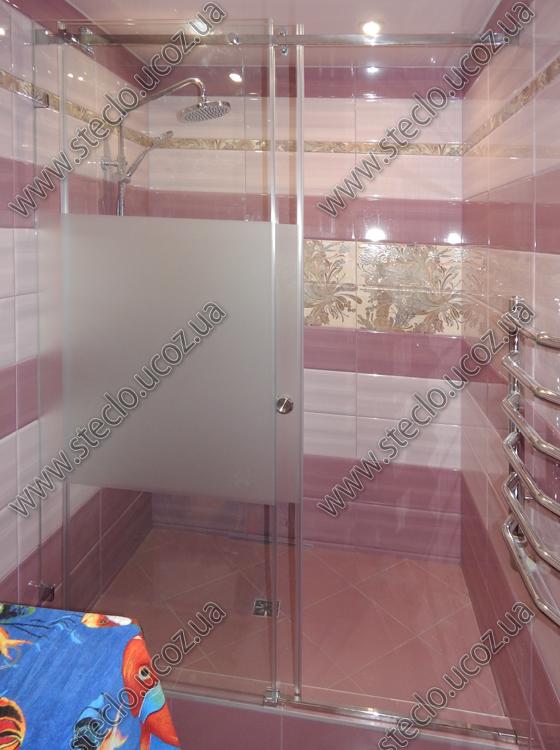 раздвижные стеклянные двери для душа 757_1